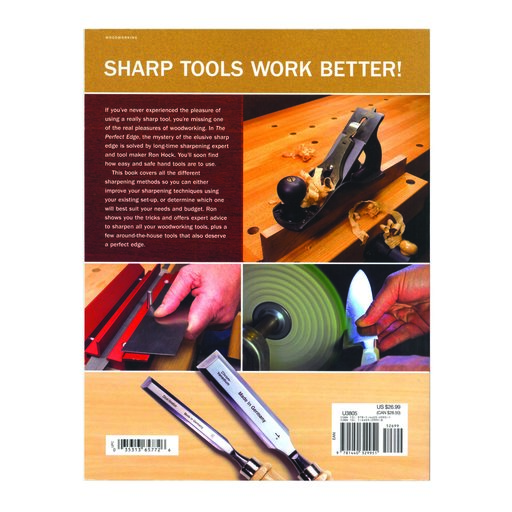 View a Larger Image of The Perfect Edge The Ultimate Guide to Sharpening for Woodworkers Softcover