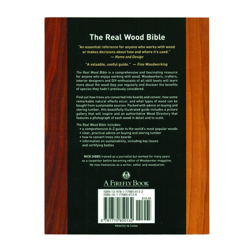 View a Larger Image of The Real Wood Bible Revised Edition by Nick Gibbs