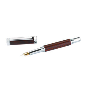 The Rinehart Fountain Pen Kit Chrome