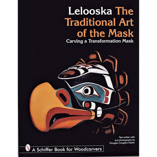 View a Larger Image of The Traditional Art of the Mask:  Carving a Transformation Mask