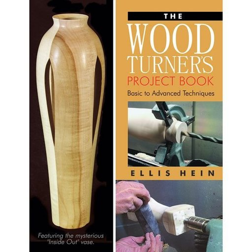 View a Larger Image of The Woodturner's Project Book: Basic to Advanced Techniques
