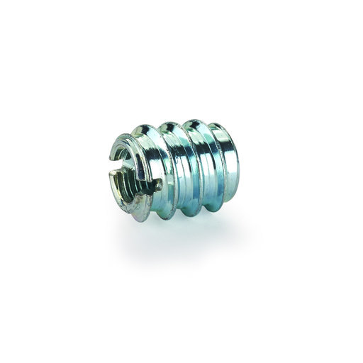 "View a Larger Image of Threaded Insert - Slotted - 1/4"" x 20 8-piece"