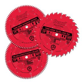 Three Piece Ultimate Saw Blade Collection