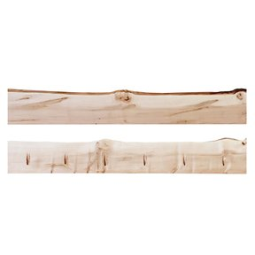 "Timber Link Rustic Maple Live Edge 1.5"" x 5-8"" x 4' (S3S)"