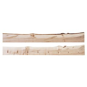 "Timber Link Rustic Maple Live Edge 1.5"" x 5-8"" x 6' (S3S)"