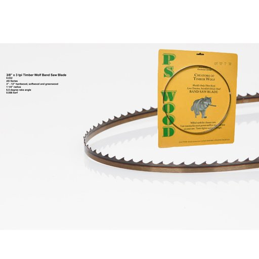 "View a Larger Image of Bandsaw Blade 105"" x 3/8"" x 3 TPI Alternate Set"
