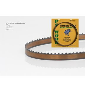 "Bandsaw Blade 133"" x 3/4"" x 3 TPI Thin Positive Claw"