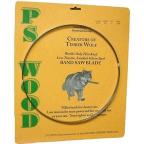 "Timber Wolf Bandsaw Blade 142"" x 3/4"" x 2/3 TPI Variable Positive Claw"