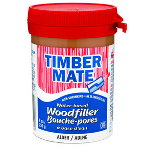 Wood Filler, Water Based, 8-oz Alder