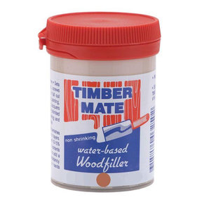 Wood Filler, Water Based, 8-oz Mahogany