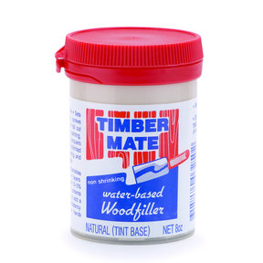 Wood Filler, Water Based, 8-oz, Natural