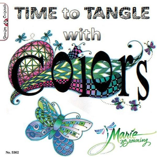 View a Larger Image of Time To Tangle With Colors