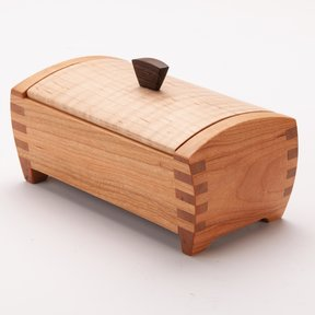 Woodcraft Magazine Tiny Treasure Box Downloadable Plan