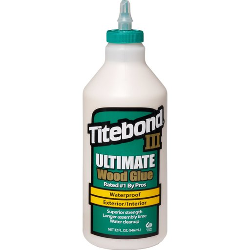 View a Larger Image of III Waterproof Glue, 32-oz