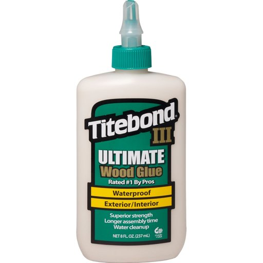 View a Larger Image of III Waterproof Glue, 8-oz