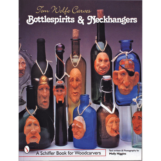 View a Larger Image of Tom Wolfe Carves Bottlespirits & Neckhangers