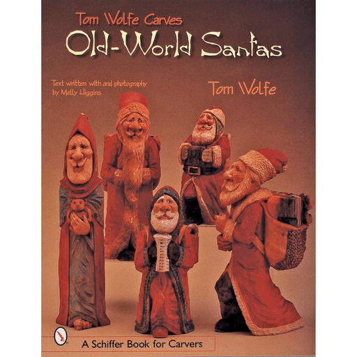 View a Larger Image of Tom Wolfe Carves Old World Santas