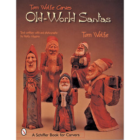 Tom Wolfe Carves Old World Santas