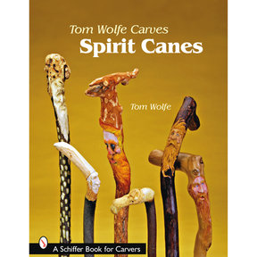 Tom Wolfe Carves Spirit Canes