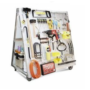 Tool Cart w Peg Board