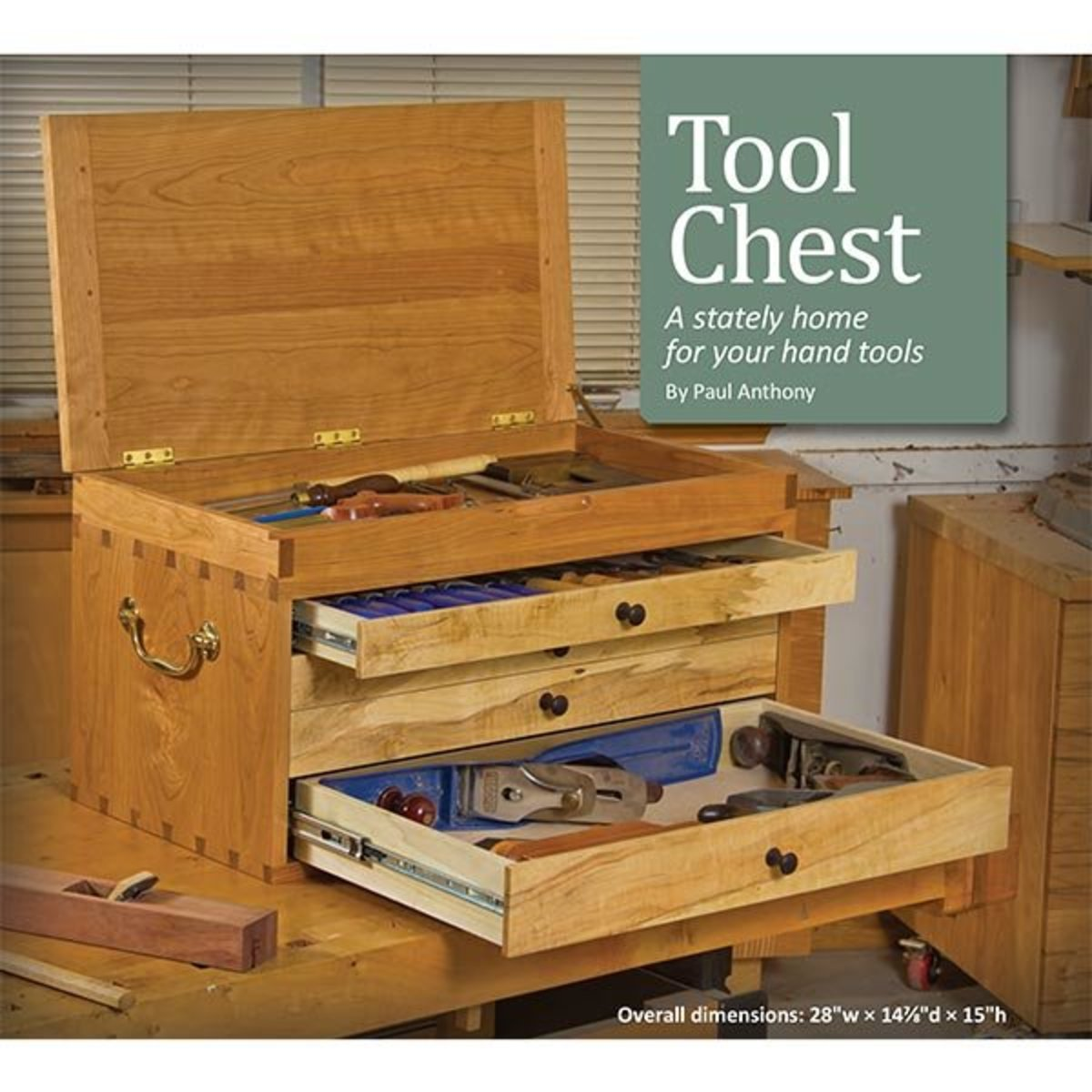 woodcraft magazine - tool chest - downloadable plan