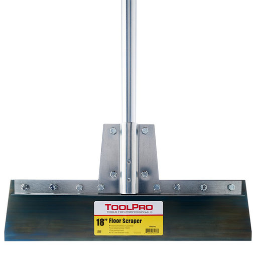 "View a Larger Image of 18"" Floor Scraper with Steel Handle"