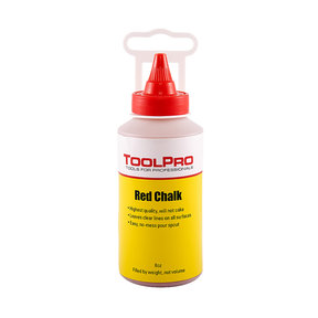 Chalk Refill, Red, 8 oz.