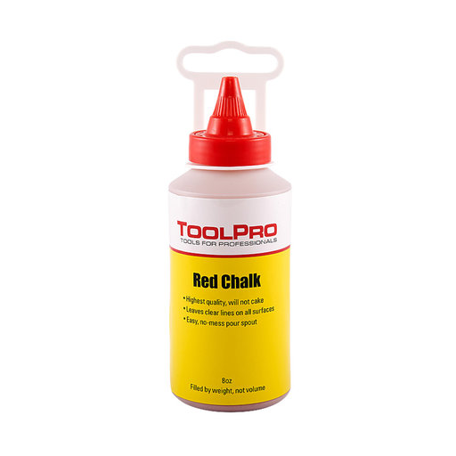 View a Larger Image of Chalk Refill, Red, 8 oz.
