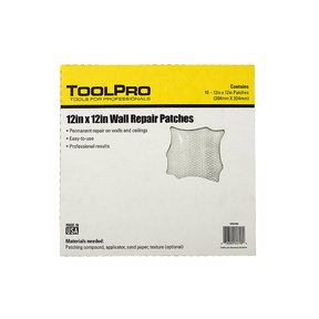 "Drywall Patch, 12"" x 12"", 10-Pack"