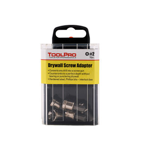 Drywall Screw Adapter, 10-Pack