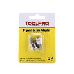 Drywall Screw Adapter, 2-Pack