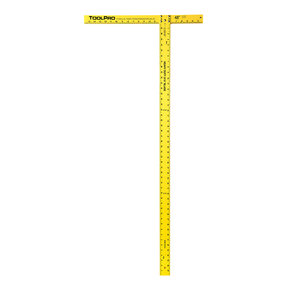 "Drywall Squares, 48"", Heavy Duty 3/16"" Blade, Pair"