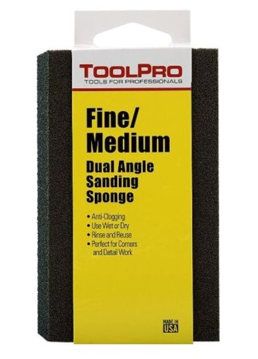 View a Larger Image of Dual Angle Sponge, Fine/Med Grit