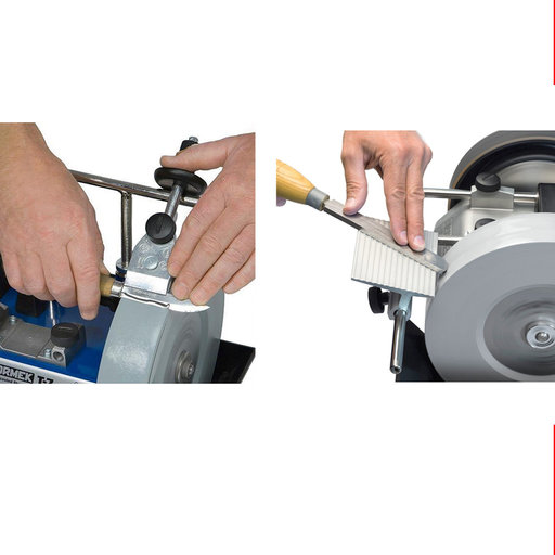 View a Larger Image of Tormek Small Knife Jig & Tool Rest Combo