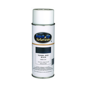 Black Toner Solvent Based Aerosol 12 oz