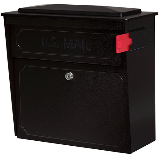 View a Larger Image of Townhouse Mail Boss, Black