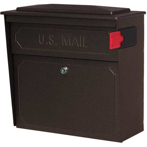 View a Larger Image of Townhouse Mail Boss, Bronze Copper