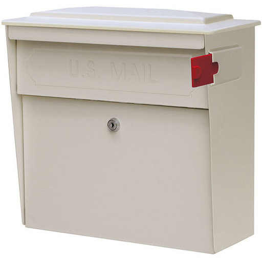 View a Larger Image of Townhouse Mail Boss, White