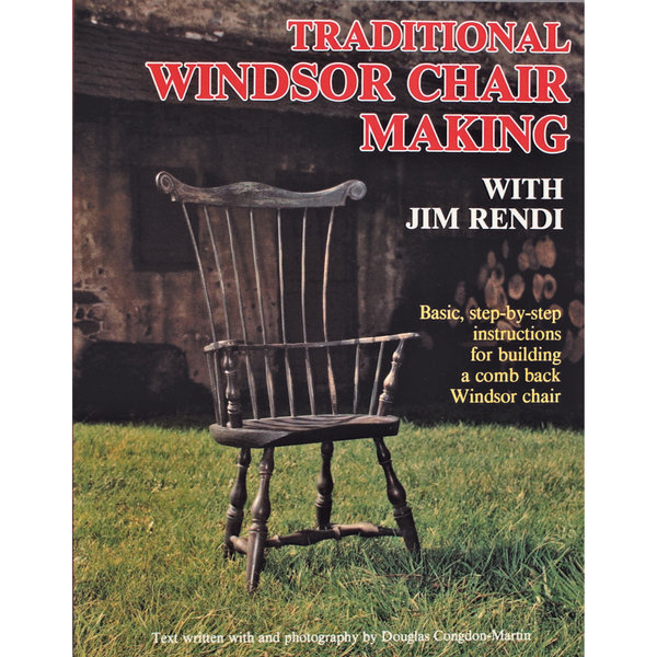View A Larger Image Of Traditional Windsor Chair Making With Jim Rendi