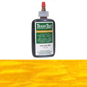 Amber Transtint Alcohol/Water Soluble Dye 2 oz