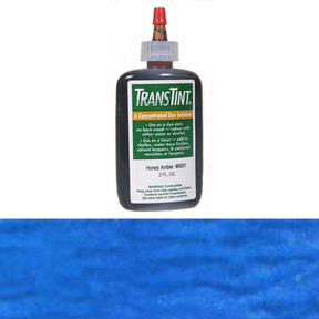 Blue Transtint Alcohol/Water Soluble Dye 2 oz