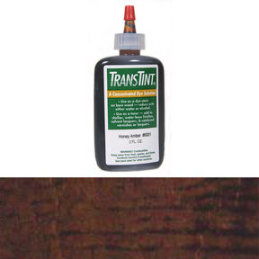 Dark Walnut Transtint Alcohol/Water Soluble Dye 2 oz