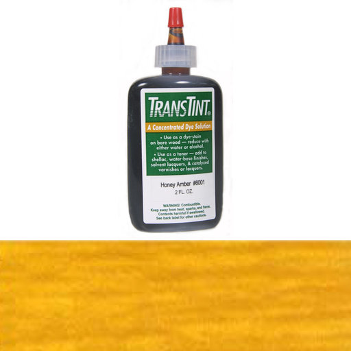View a Larger Image of Honey Amber Transtint Alcohol/Water Soluble Dye 2 oz