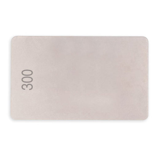 View a Larger Image of Credit Card, Double Sided Diamond Stone