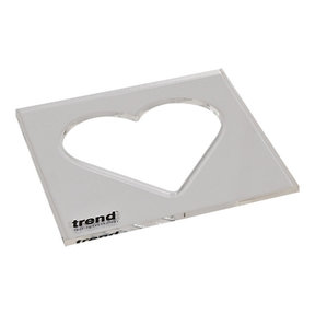 Template Inlay - Heart