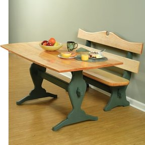 Trestle Table and Benches - Downloadable Plan