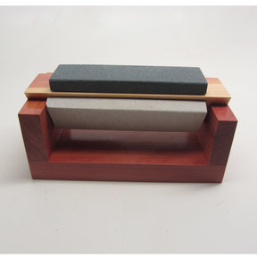 "Tri-Hone Sharpening Set, 4"" Mini Arkansas Stones"