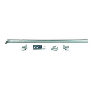 Tri-Roller Center Mount 3/4-Extension Drawer Slide, 22-5/8""