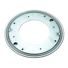 "Flat Round Lazy Susan, 12"", 5/16"" Thick Capacity 1000 lbs."