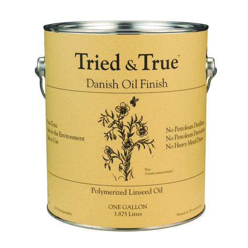 View a Larger Image of Tried & True Danish Oil, Gallon